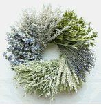 Heartland Grain Wreath 22'' by Maple Ridge Decor. $53.99. Grain Wreath. The Heartland Wreath is a nice subtle touch of colors and texture. Contains Artemisia, Nigella Orientalis, Lavender, Beardless Green Wheat, Avena and Larkspur. Measures 22 inches across by 5 inches deep.