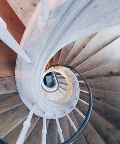 escalier Artothèque de Caen, Palais Ducal