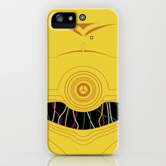 C3P0 iPhone Case iPhone Case by Brash Attack - $35.00