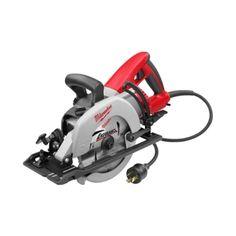 "Milwaukee 6577-20 7-1/4"" Worm Drive Circular Saw with Twist-Lock Plug"