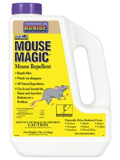 Mouse Repellent, Natural Mouse Repellent | Gardener's Supply