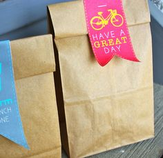 Free Sack Lunch Tags