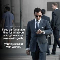 "Top Motivational Quotes By The BadAss Suits Character Harvey Specter Have you ever had one of those days when you say to yourself, ""I have no motivation to do anything"" or ask yourself ""Why do. Boss Quotes, Strong Quotes, Attitude Quotes, Quotes Positive, Me Quotes, Motivational Quotes, Inspirational Quotes, Career Quotes, Dream Quotes"