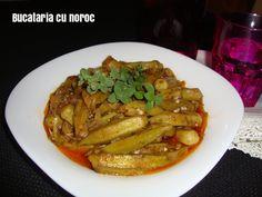 Mancare de bame - Bucataria cu noroc Noroc, Meat, Chicken, Buffalo Chicken, Cubs