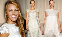 Is this what Blake Lively's wedding dress looked like? Indian-inspired Marchesa show sparks buzz with dazzling white gowns