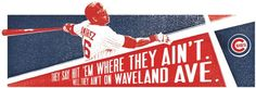 The Chicago Cubs: Waveland Ave