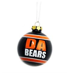 Da Bears Tree Ornament