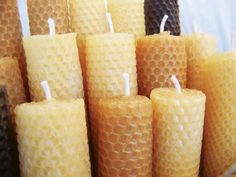 Bees Wax Candles...(the best candle you can burn.  Bees wax removes impurities from the air...wax candles only add more to the air).
