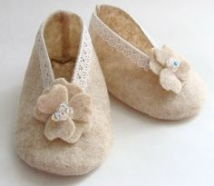 Tutorial: Pitter Patter....a Baby Shoe (link to free pattern)