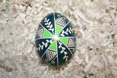 Pussywillow, Cross & Net Ukrainian Egg by StiglianoDesigns on Etsy