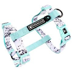 NEW ITEM! We get so many compliments about how soft and durable our leashes are…. So we decided to make a harness out of the same super soft material! The Frenchie Strap Harness is perfect to throw on