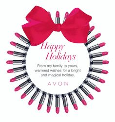 Happy Holidays! Thank you Everyone! Free Shipping on any $ 40 Order Or more, http:// fjacques.avonrepresentative.com #Avon