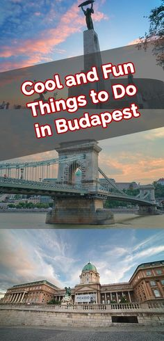 Whether it's your first time or third time in the city there's always fun things to do in Budapest. Let's explore the coolest Budapest points of interest.