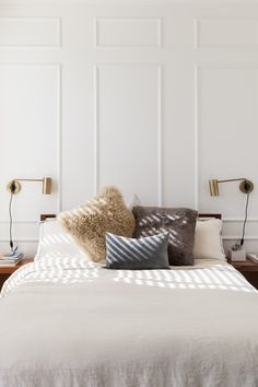 Simple bedroom with