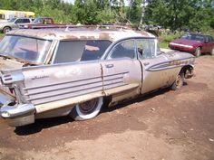'58 Oldsmobile Eighty-Eight Fiesta Wagon