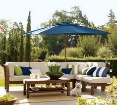 Pottery Barn Patio Umbrella