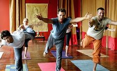 5 yoga poses for men to get you confident on the mat. Gentlemen, start your engines. Here's a compilation of 5 key poses to jumpstart your yoga practice.