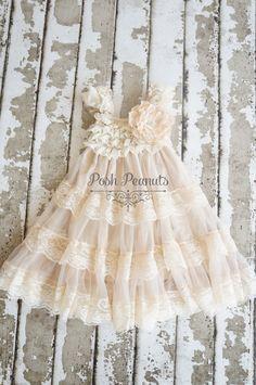 Bloemenmeisje jurk  bloemenmeisje jurken  door PoshPeanutKids