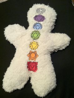 Reiki doll for Distance Reiki Treatments.  From Etsy user InYourClutches.