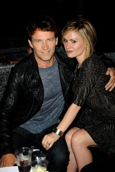 Anna Paquin and Stephen Moyer Sweetest Pictures | POPSUGAR Celebrity