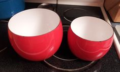 TWO Vintage DANSK France IHQ Nesting Mixing by palmbeachtreasure