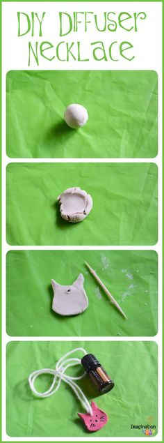 DIY Diffuser Necklace for children's olfactory system - fun activity from Sensory Processing 101 book