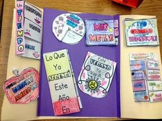 End of the Year Memory Lapbook (also in SPANISH) - Great for wall decorations, for students to share with their classmates, and for students to bring home for a keepsake to remember their year with you. ($)