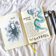 Journal List, Bullet Journal Ideas Pages, Bullet Journal Inspiration, Girly Phone Cases, Chinese Cartoon, Kpop Merch, School Hacks, Studio Ghibli, Wall Collage