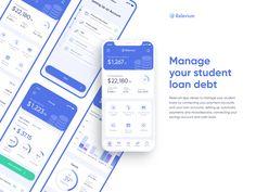 App Ui Design, Web Design, Graphic Design, Project Finance, Thing 1, Student Loans, Interactive Design, Mobile App, Management