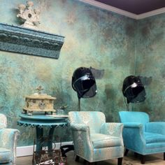 Comfy chairs are all the rage in salons these days, ensuring clients are comfortable and at ease.
