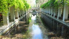 Water feature at Parc de Bercy