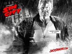 Sin City - Wallpaper with Mickey Rourke. The image measures 1280 * 960 pixels and was added on 23 November Sin City 2, Sin City Movie, Byronic Hero, Frank Miller Art, Graphic Novel, Full Hd Pictures, City Quotes, Mickey Rourke, Drama
