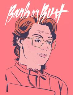 Barb was the best of us. (Stranger Things art)