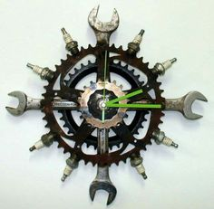 Welded clock
