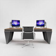 os1 executive desk by odesd2 designer svyatoslav zbroy - Designer Executive Desks