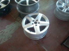 Title: white 5 hole steel rims 16 inch 5 x 150Category: Automotive Vehicles > Auto Parts