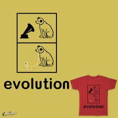 Evolution of Music on Threadless