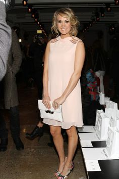 Carrie Underwood at Fashion Week