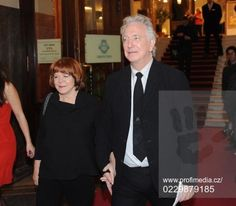 They hold hands!!!  *o* alan rickman #rima horton 22nd febiofest international film festival 19 march 2015 in Prague #Rilan #PDsFavourites