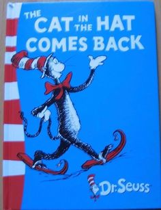 The Cat in the Hat Comes Back, Dr. Seuss 2003 hb