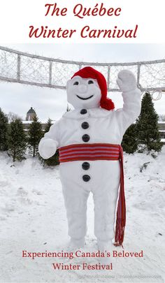travelyesplease.com | The Quebec Winter Carnival- Experiencing Canada's Beloved Winter Festival (Blog Post) | Bonhomme in Quebec City, Canada