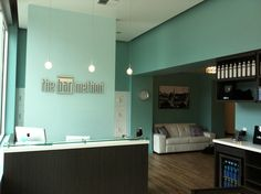 The Bar Method Seattle....one of my favorite workout spots, right behind Bar Method Montclair!