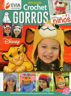 Crochet Gorros para Ninos №1 2016 - 轻描淡写 - 轻描淡写