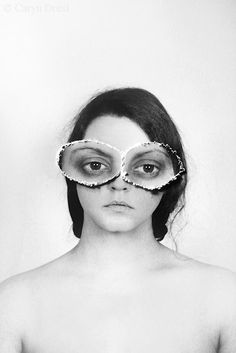 See With Your Own Eyes  FREE SHIPPING  Print. Caryn Drexl Photography. Conceptual, Surreal, Portraits.