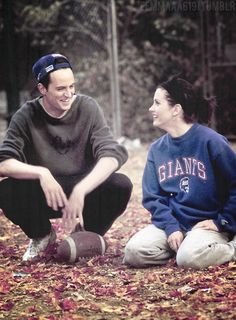 chandler and monica, I want a relationship like theirs