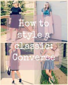 The many ways to style a classic: Converse