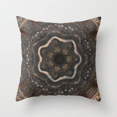 CenterViewSeries282 Throw Pillow by fracts - fractal art - $20.00
