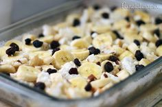 Torta Rabanada c/ Banana e Passas