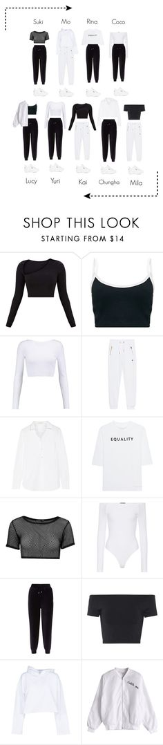 """""Drowning"" — BANGBANG Stage"" by bbofficial ❤ liked on Polyvore featuring Cushnie Et Ochs, True Religion, Yves Saint Laurent, Soufiane Ahaddach, Boohoo, ATM by Anthony Thomas Melillo, Whistles, Helmut Lang, Golden Goose and Fila"