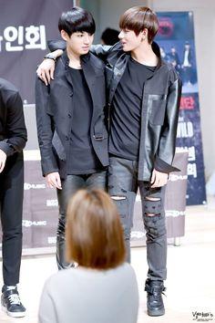 Jungkook and V - BTS